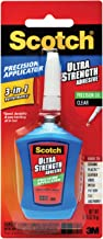 Scotch Ultra Strength Adhesive, 0.14-Ounces, 6 Applicators/Pack (ADH670)