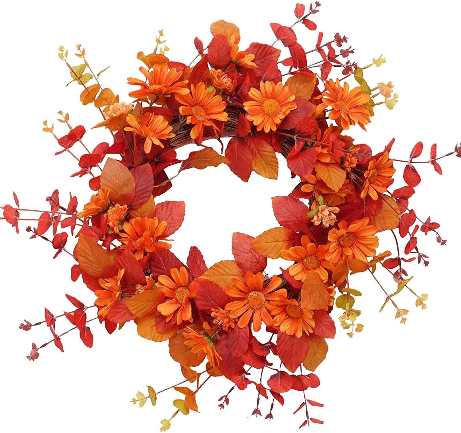 CargoTi Blossom Fall Front Door Outdoo Fort Worth Mall Lush Beautiful Max 73% OFF Wreath and