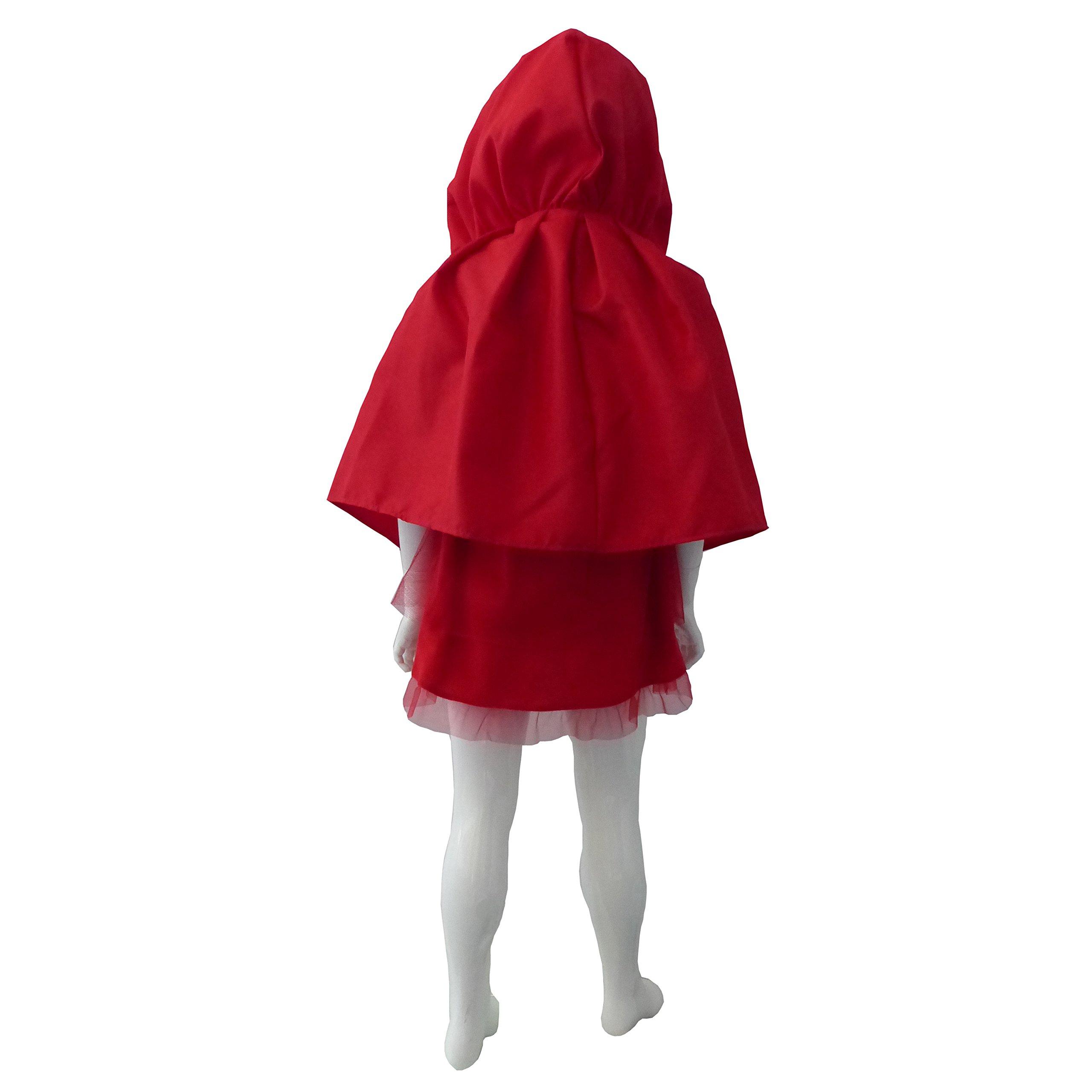 César E863-003 - Disfraz infantil de Caperucita roja (3-5 años ...