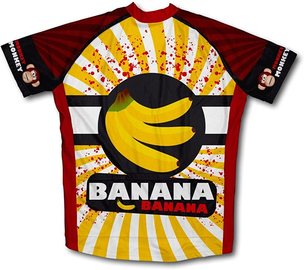 CHIQUITA BANANA Cycling Jersey mens team cycling Short Sleeve Jersey