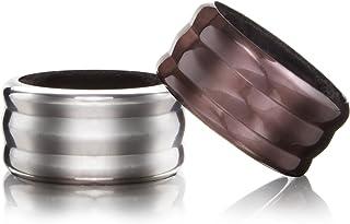 【正規輸入品】vacu vin ワインカラー 2個セット (液だれ防止リング)