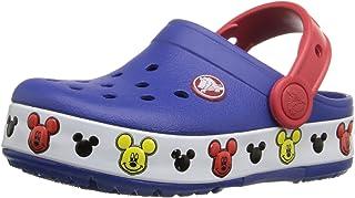 Crocs 卡骆驰儿童 Light-Up Mickey Mouse 洞洞鞋