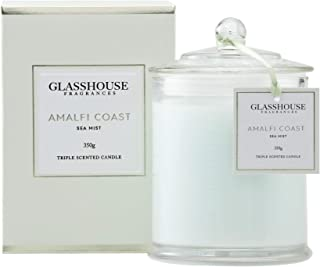 Glasshouse Fragrances Amalfi Coast Sea Mist Triple Scented Candle 350g
