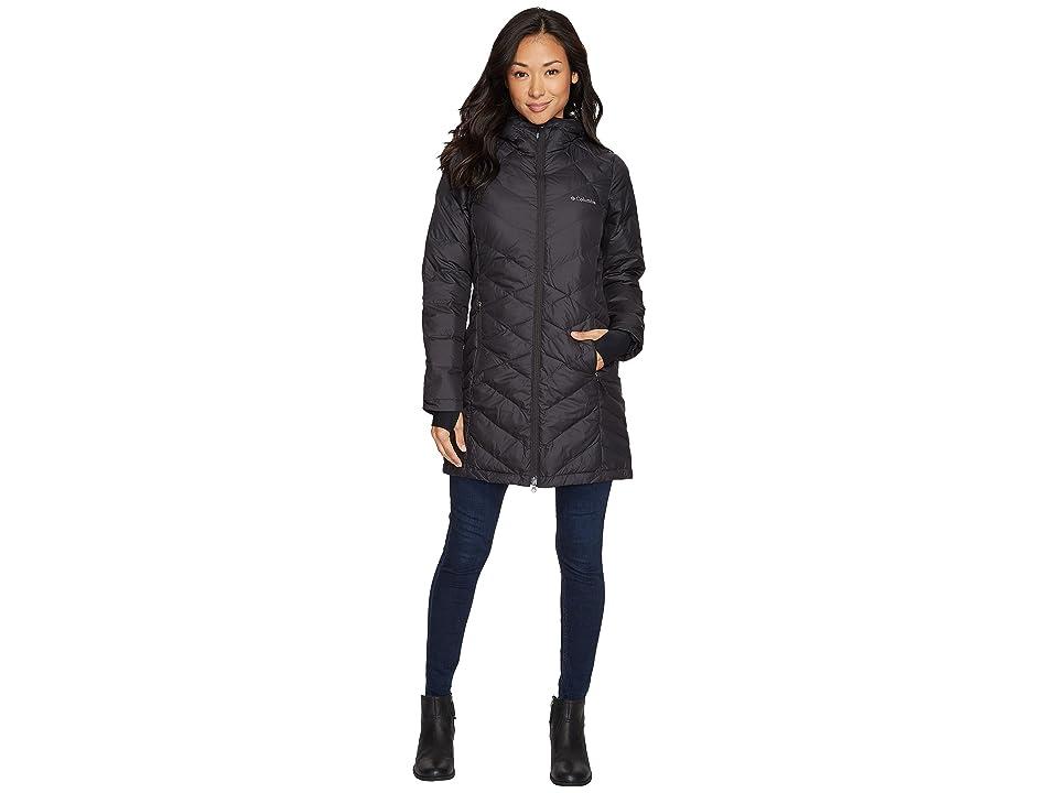 Columbia Heavenly Long Hooded Jacket (Black) Women