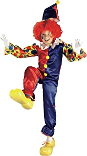 Rubie's Clown Costume For Boys, Multi Color, Small, 881103S