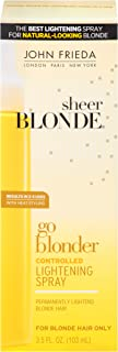 John Frieda Sheer Blonde Go Blonder Controlled Lightening Spray 3.50 oz ( Pack of 3)
