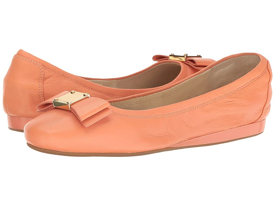 Cole Haan Tali Bow Ballet (Nectar Leather) Women's Slip on Shoes