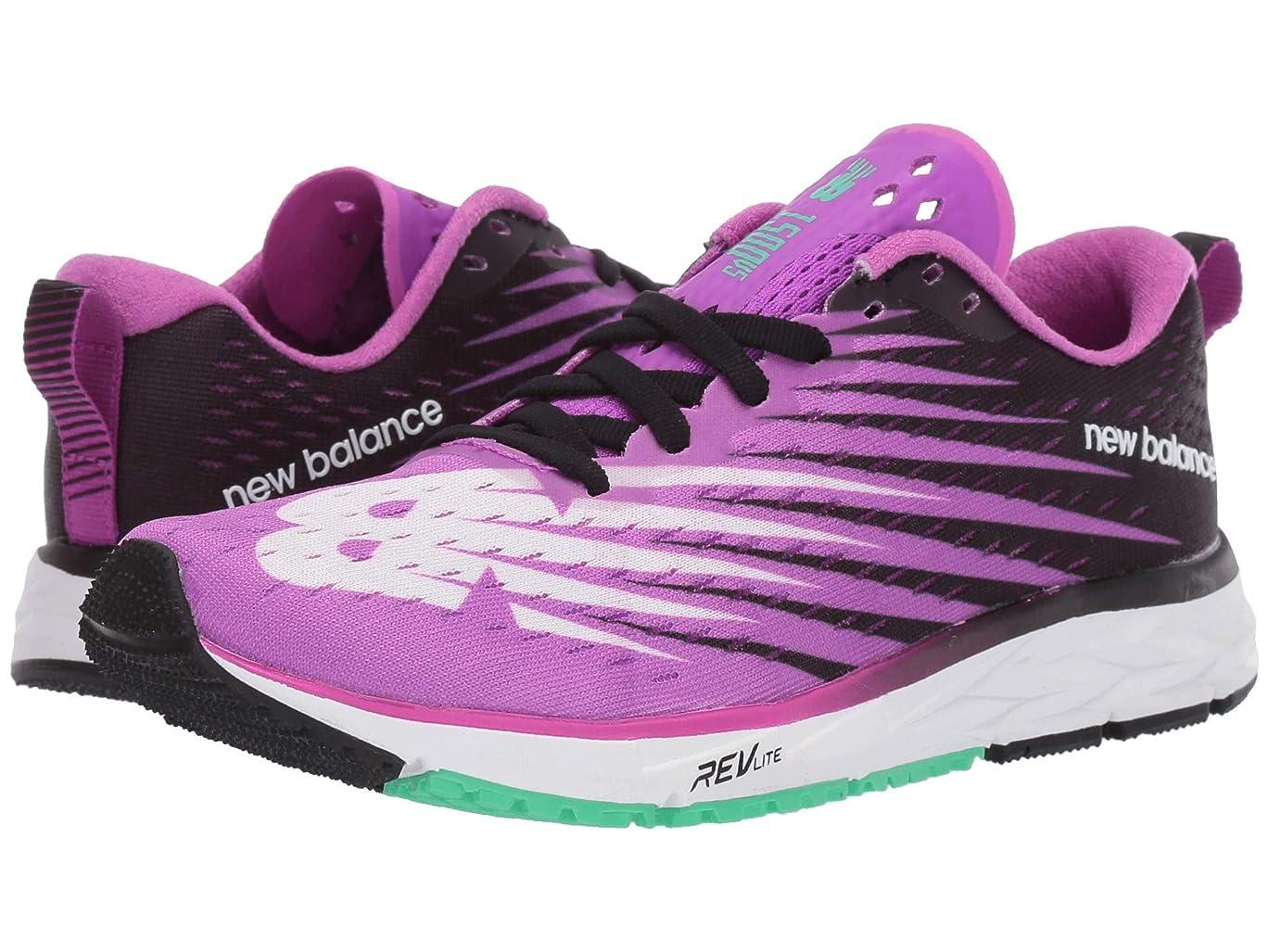 物理的に必要条件矢[ニューバランス] レディースランニングシューズ?スニーカー?靴 1500v5 Voltage Violet/Black 6 (23cm) D - Wide [並行輸入品]