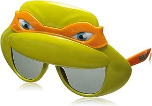Costume Sunglasses TMNT Orange Mask Sun-Staches Party Favors UV400