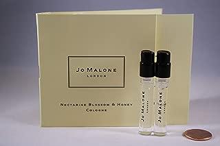 Jo Malone Nectarine Blossom & Honey Cologne Vial Sample .05 oz / 1.5 ml each vial - (2 Vial Set)