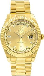 Rolex Day-Date II Automatic-self-Wind Male Watch 218238 (Certified Pre-Owned)