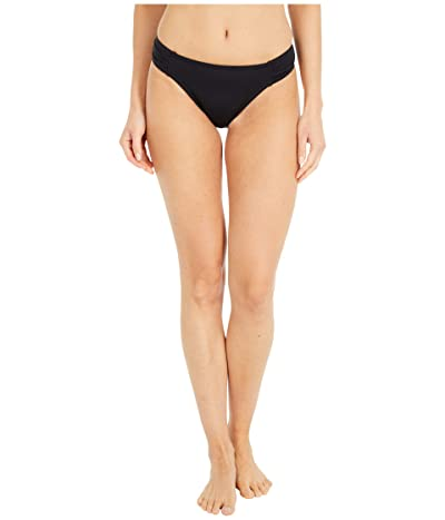 Tommy Bahama Pearl Side-Shirred Hipster Bikini Bottom (Black) Women