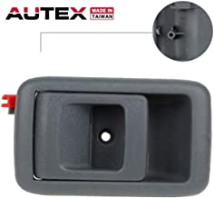 AUTEX 1pc Interior Front/Rear Left (Driver Side-FL) Door Handle Compatible with Toyota Tacoma 2001 2002 2003 2004 Gray 9597181 692063202003 6920632020G TO1352122 14455361
