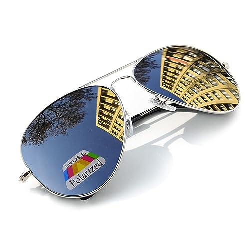 0ba97e0d59 4sold Vintage Retro Original Mirror lens Polarized Sunglasses Glasses Air  Force Unisex UV 400 Protection