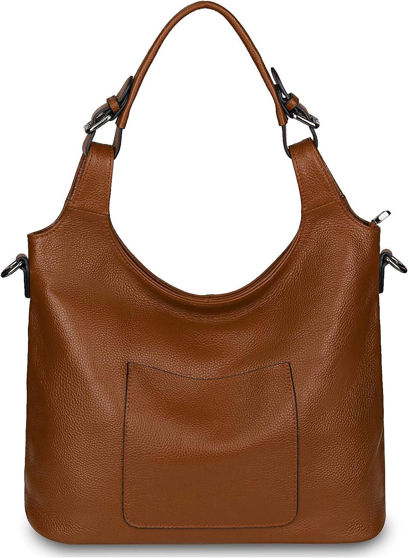Gywon Genuine Leather Shoulder Bag Handbags Work Women Super sale period limited for Bargain Tote