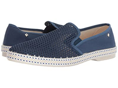 Rivieras Classic 20 Slip-On (Blue De Travail) Men