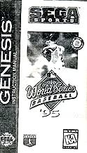 World Series Baseball 95 Sega Genesis Instruction Booklet (SEGA GENESIS MANUAL ONLY - NO GAME) Pamphlet - NO GAME INCLUDED