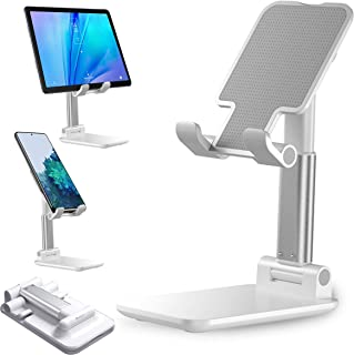 Sponsored Ad - Cell Phone Stand, Height Angle Adjustable Phone Stand for Desk, Desktop Mobile Phone Tablet Holder, Cradle,...