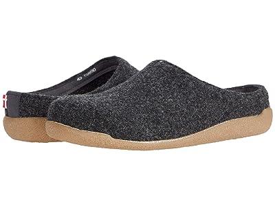 Sanita Lodge Slide (Charcoal) Shoes
