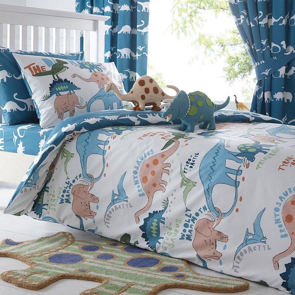 Merryfeel Dinosaur Duvet 5 ☆ very popular Cover Set 100% Cotton D Print Austin Mall