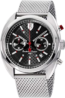Ferrari Men's 830214 Formula Sportiva Analog Display Quartz Silver Watch