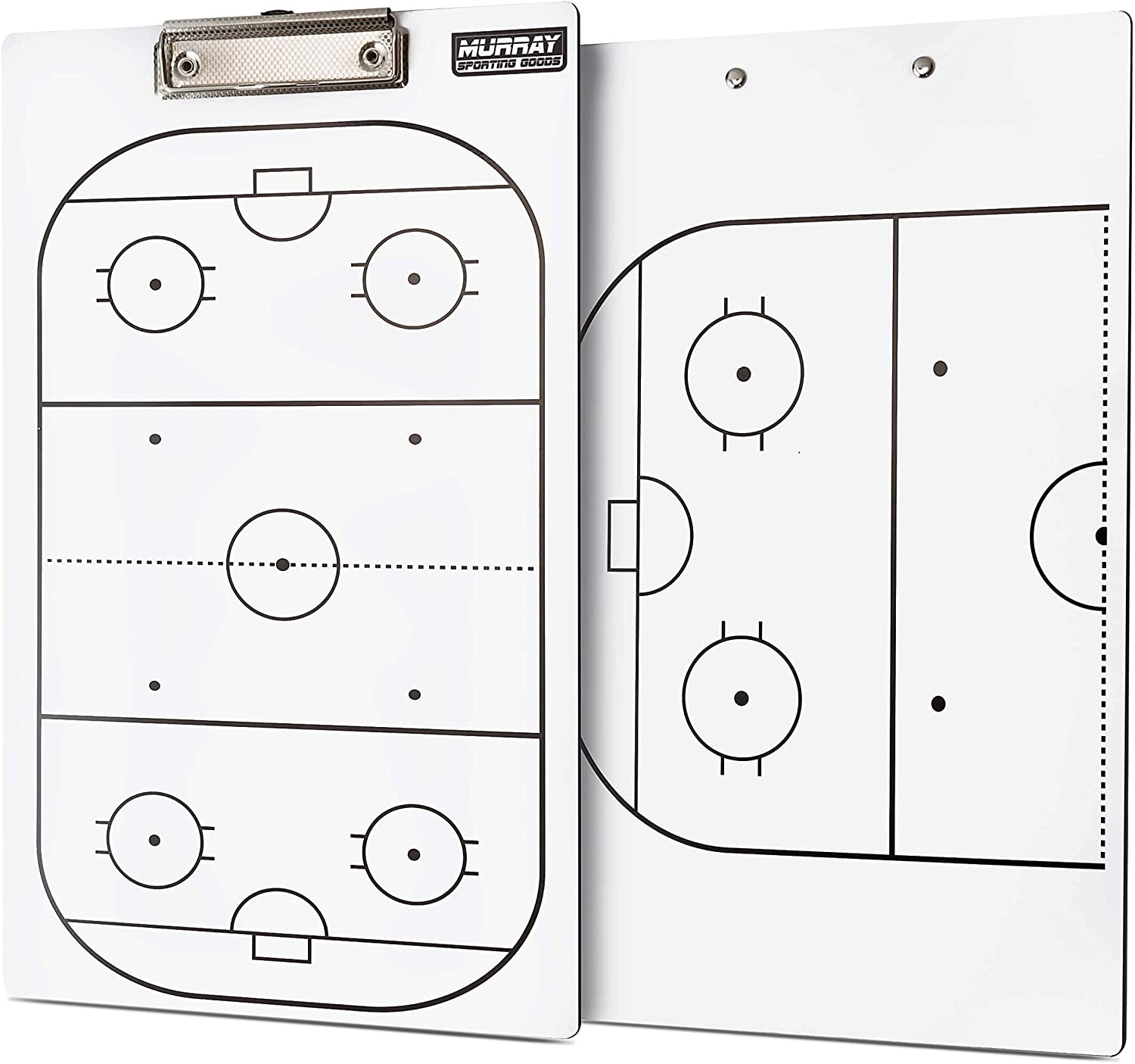 Murray Sporting Goods Dry supreme Erase Direct sale of manufacturer Coaches Double-Sided Hockey Clip