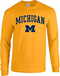 NCAA Officially Licensed College - University Team Color Arch Logo Long Sleeve