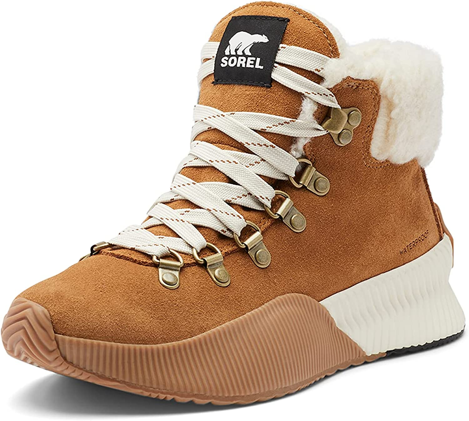 SOREL Women's Out 'N About III Conquest Boot — Waterproof Suede Winter Boots