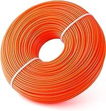 FEPITO Maaidraad rond oranje 2,4 mm x 96 m trimmerdraad bosmaaier draad