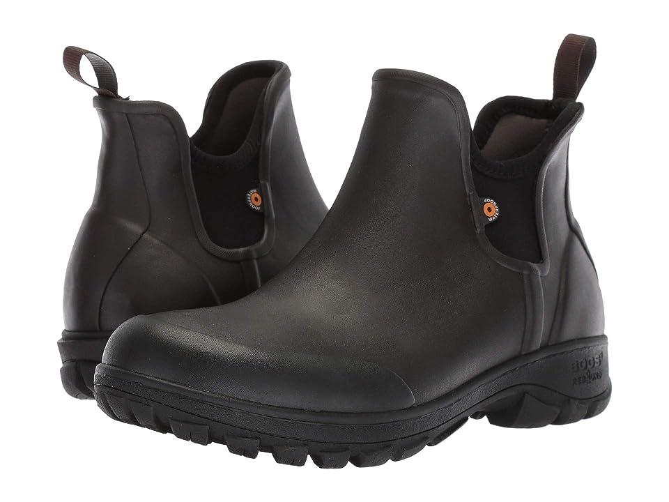 Bogs Sauvie Slip-On Boot (Dark Brown) Men