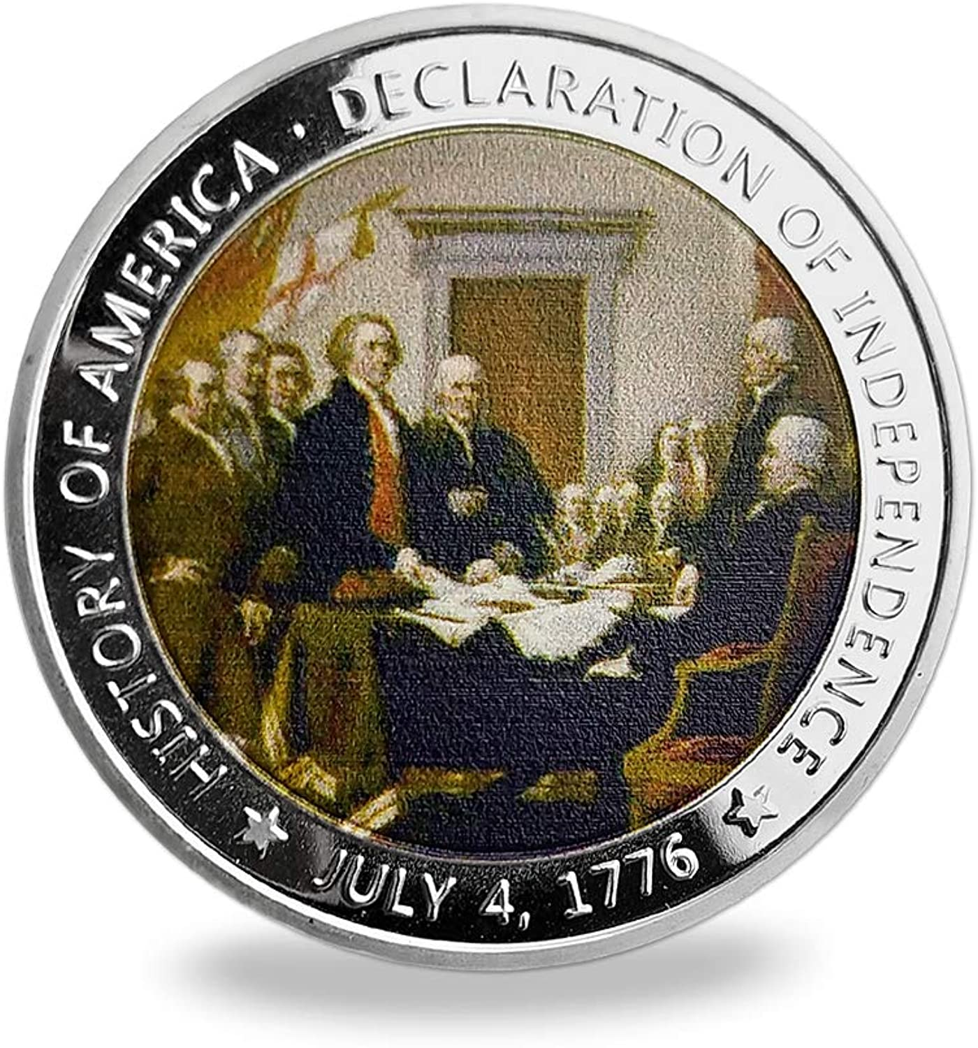 US Challenge Coin Declaration of Independence Coin Gift