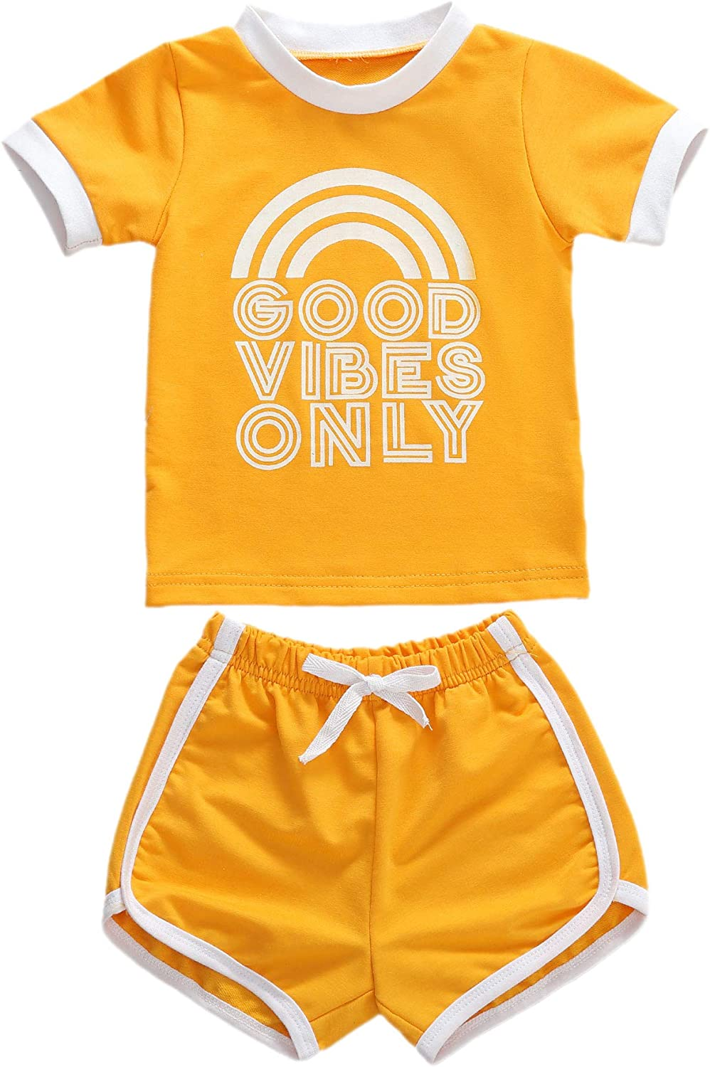Toddler Baby Girls Sports Clothes Luxury goods Sleeve Ta Max 51% OFF Short Cotton T-Shirt