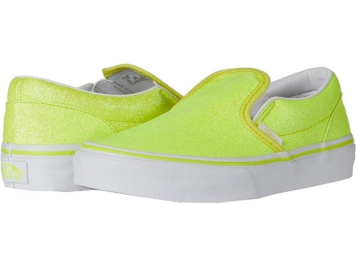 yellow slip on vans kids