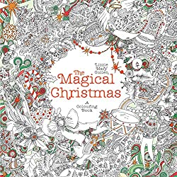 magical christmas coloring book - Christmas Coloring Books For Adults