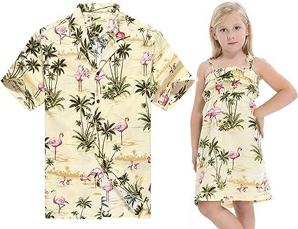Hecho en Hawaii a Juego Padre Hija Hija Luau Camisa Chica ...