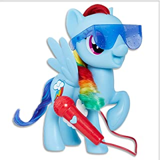 "My Little Pony - Singing Rainbow Dash - 8"" Electronic Doll - Songs & Phrases - Interactive Kids Toys - Ages 3+"