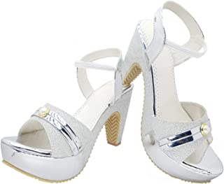 Digni Women's Sandal High Heel Sandal Antique Pcs in Sandal