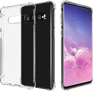 Migeec Funda para Samsung Galaxy S10 Suave TPU Gel Carcasa Anti-Choques Anti-Arañazos Protección a Bordes y Cámara Premiun...