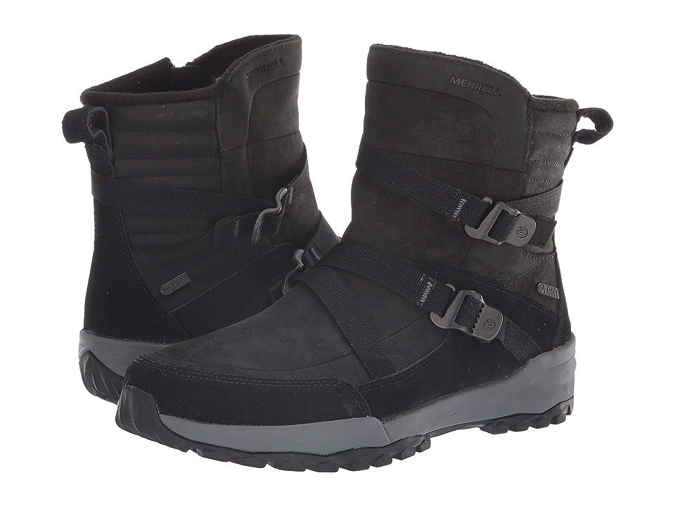 Merrell Icepack 8 Mid Zip Polar Waterproof (Black) Women