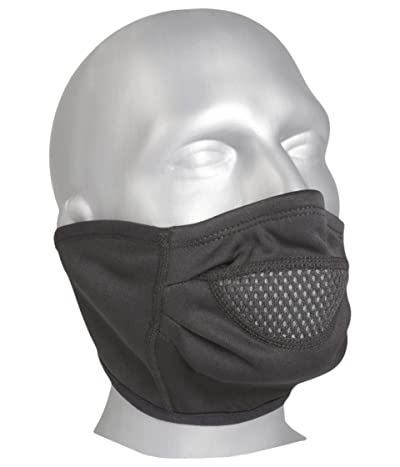 Hot Chillys Chil-Block Half Mask (Black) Cold Weather Hats