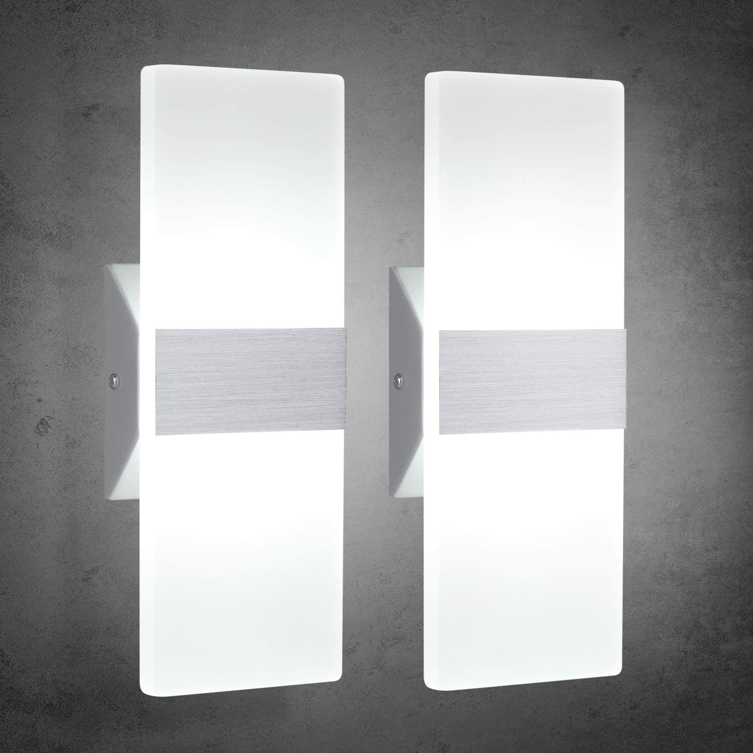 TRLIFE Modern Wall Sconces Set of Ranking TOP15 600 Mounted 2 12W Oakland Mall Lights