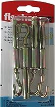 Fischer Uitbreiding Anker Bout Open Cup Haken HM 5x65 (22364) Pack van 4 M6 Open Uitbreidingshaak 304 RVS Uitbreidingsbouten