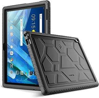 Lenovo Moto Tab Case, Poetic TurtleSkin Series [Corner/Bumper Protection][Grip][[Bottom..