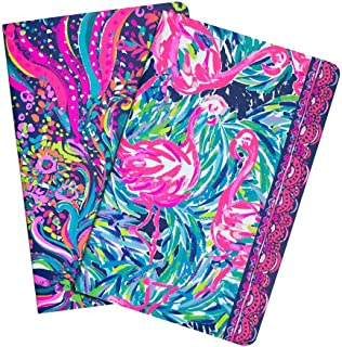 Lilly Pulitzer - Weekly Planner and Exercise Planner journal notebook