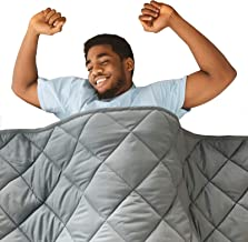 Best Hypnoser Adult Weighted Blanket Queen Size (20 lbs, 60
