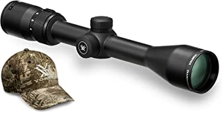 Vortex Optics Diamondback 4-12x40 Second Focal Plane Riflescope - Dead-Hold BDC Reticle (MOA) with Baseball Hat