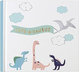 Carter's BP19-23283 Cute-A-Saurus Dinosaur Baby Photo Album, 7.4'' W x 7'' H