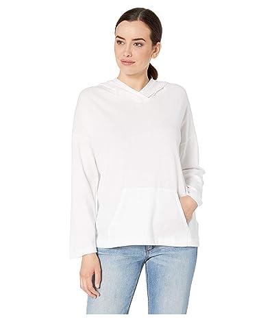 Lilla P Easy Hoodie in Gauze Knit (White) Women