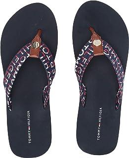 b2c0e3a46 Amazon.com  Tommy Hilfiger - Flip-Flops   Sandals  Clothing