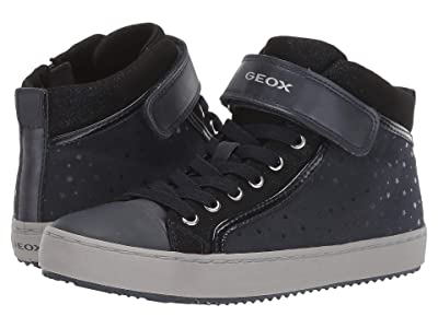 Geox Kids Jr Kalispera 18 (Big Kid) (Navy) Girls Shoes